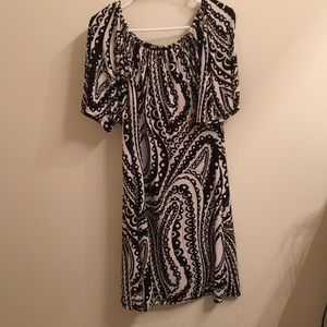 Black and white dress. Size L